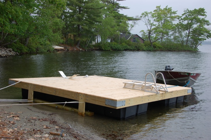 A few more docks to put in...