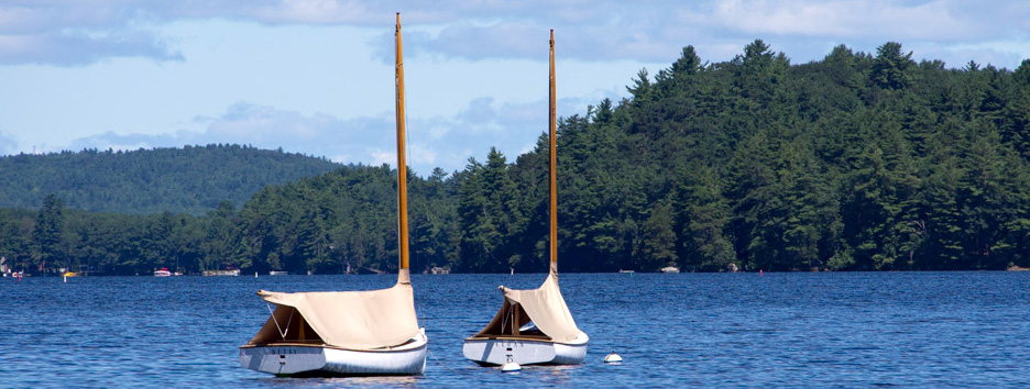 Pine Island Camp is located on Pine Island on Great Pond in Belgrade Lakes, Maine.